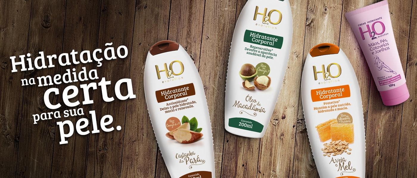 hidratantes H2O